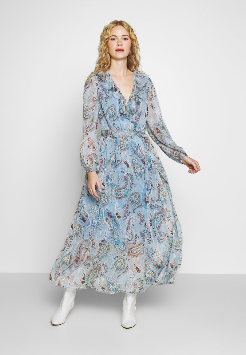 Love Copenhagen - CAMELIALC DRESS - Robe longue - halogen blue