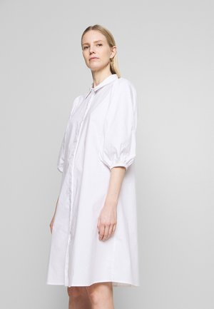 ELINAL DRESS - Shirt dress - snow white