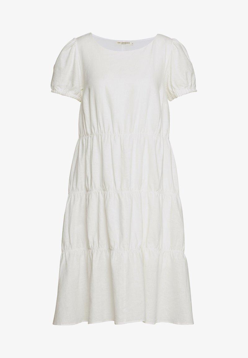 Love Copenhagen - ULRIKKALC SHORT DRESS - Vardagsklänning - snow white