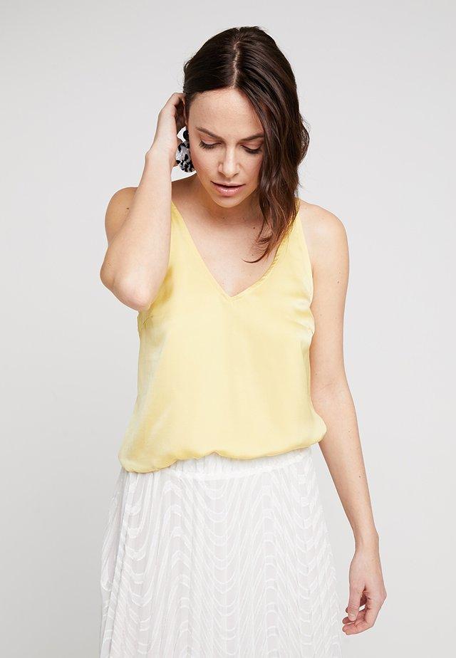 MARISA CAMI - Toppe - snapdragon yellow