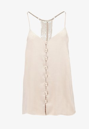SIANA EVENING STRAP - Top - rose dust