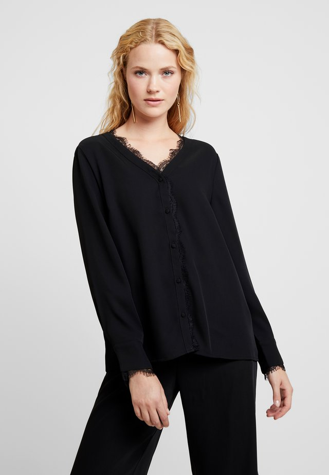 HAZELL SHIRT - Bluser - pitch black