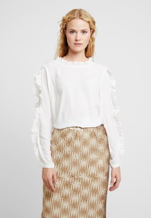 HELLY BLOUSE - Blusa - white