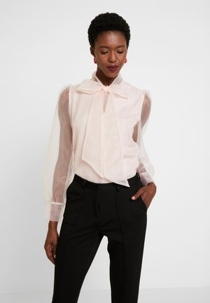 ORGANZA BLOUSE - Bluser - veiled rose