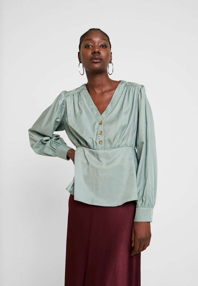 LANA BLOUSE - Blouse - faded green