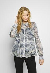 Love Copenhagen - SENLC - Button-down blouse - total eclipse - 0