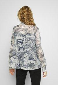 Love Copenhagen - SENLC - Button-down blouse - total eclipse - 2