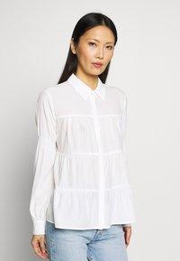 Love Copenhagen - MONIKALC - Button-down blouse - snow white - 0
