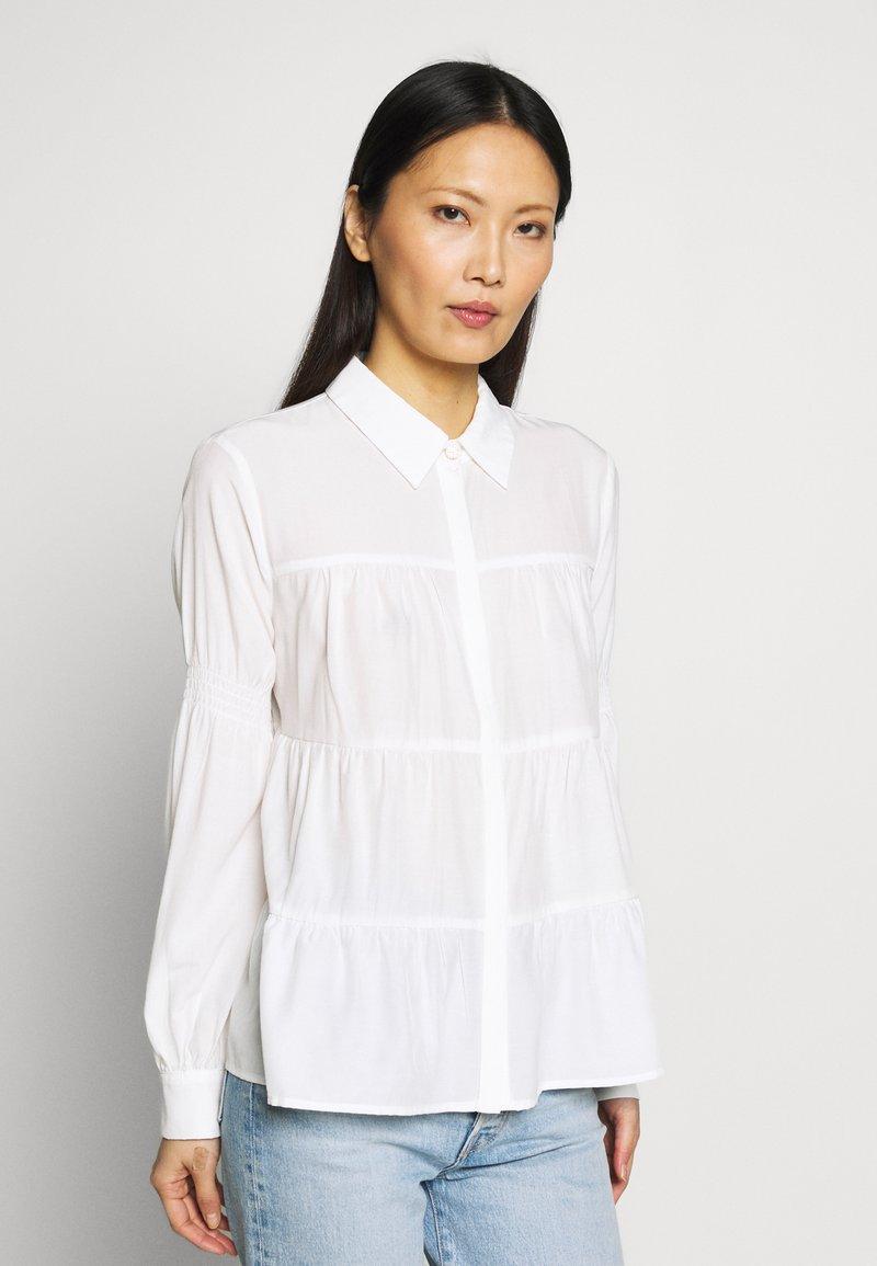 Love Copenhagen - MONIKALC - Button-down blouse - snow white