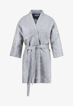 LAUREN EVENING KIMONO JACKET - Abrigo corto - ice blue