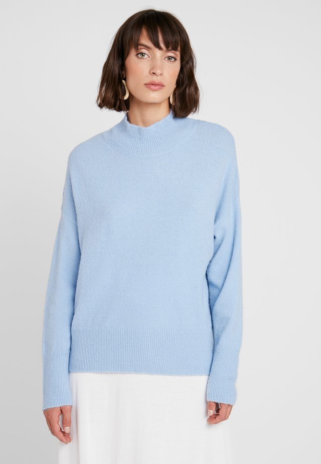 RAVIELC - Jumper - melange blue