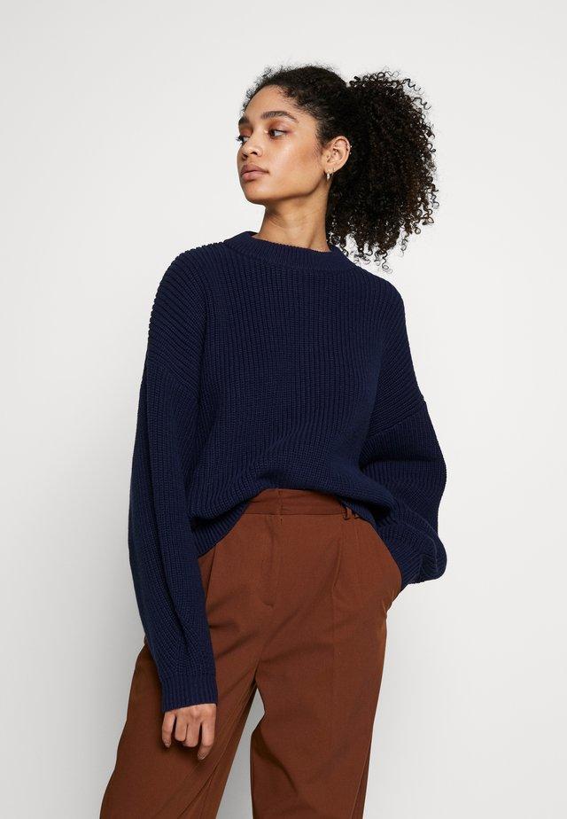 BELL - Stickad tröja - maritime blue