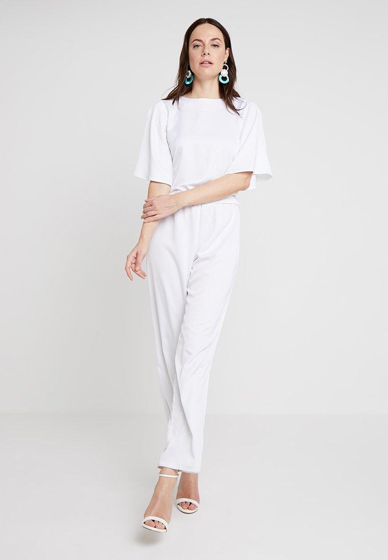 Love Copenhagen Jasmine Evening Long 2-in-1 - Pantalon Classique Optical White