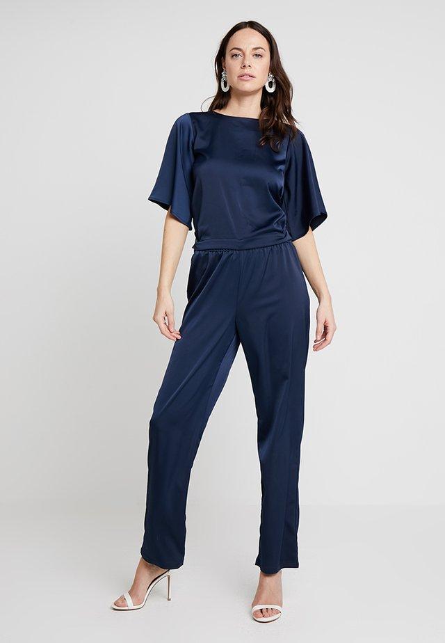 JASMINE EVENING LONG 2-IN-1 - Kalhoty - royal navy blue