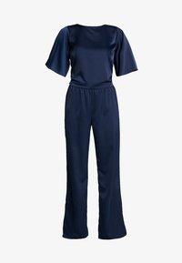 Love Copenhagen - JASMINE EVENING LONG 2-IN-1 - Trousers - royal navy blue - 4
