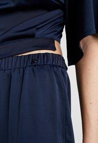 Love Copenhagen - JASMINE EVENING LONG 2-IN-1 - Trousers - royal navy blue - 3