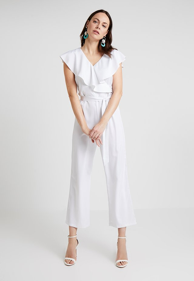 FORMAL - Overall / Jumpsuit /Buksedragter - optical white