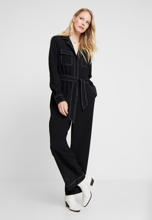 LILLAN - Overall / Jumpsuit /Buksedragter - pitch black
