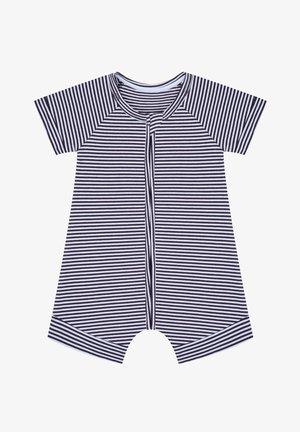 Tuta jumpsuit - grey/white