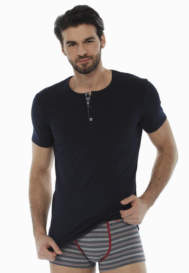 Maglietta intima - blu scuro