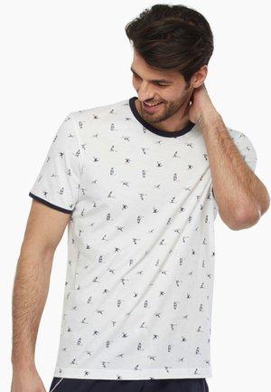 Maglia del pigiama - white