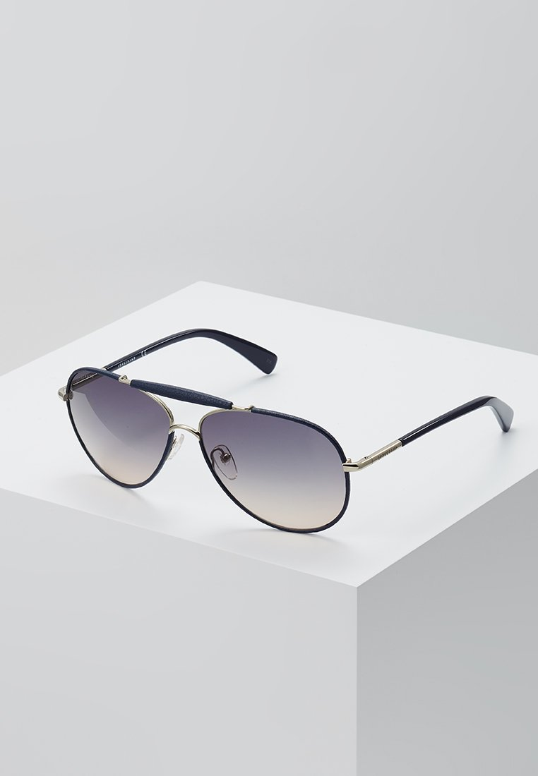 Longchamp - Zonnebril - gold-coloured/blue