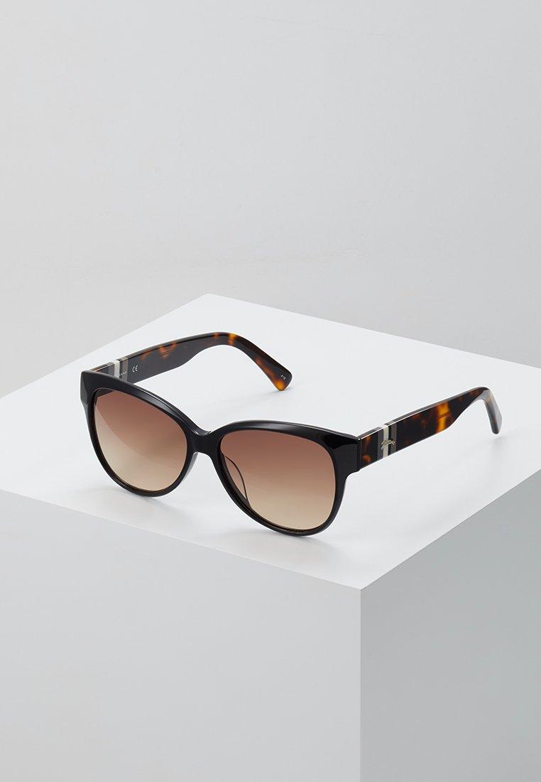 Longchamp - Sluneční brýle - black/havana