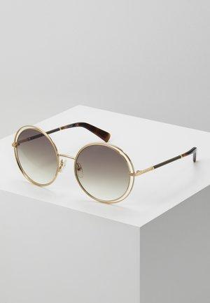 Sonnenbrille - gold-coloured/bourbon