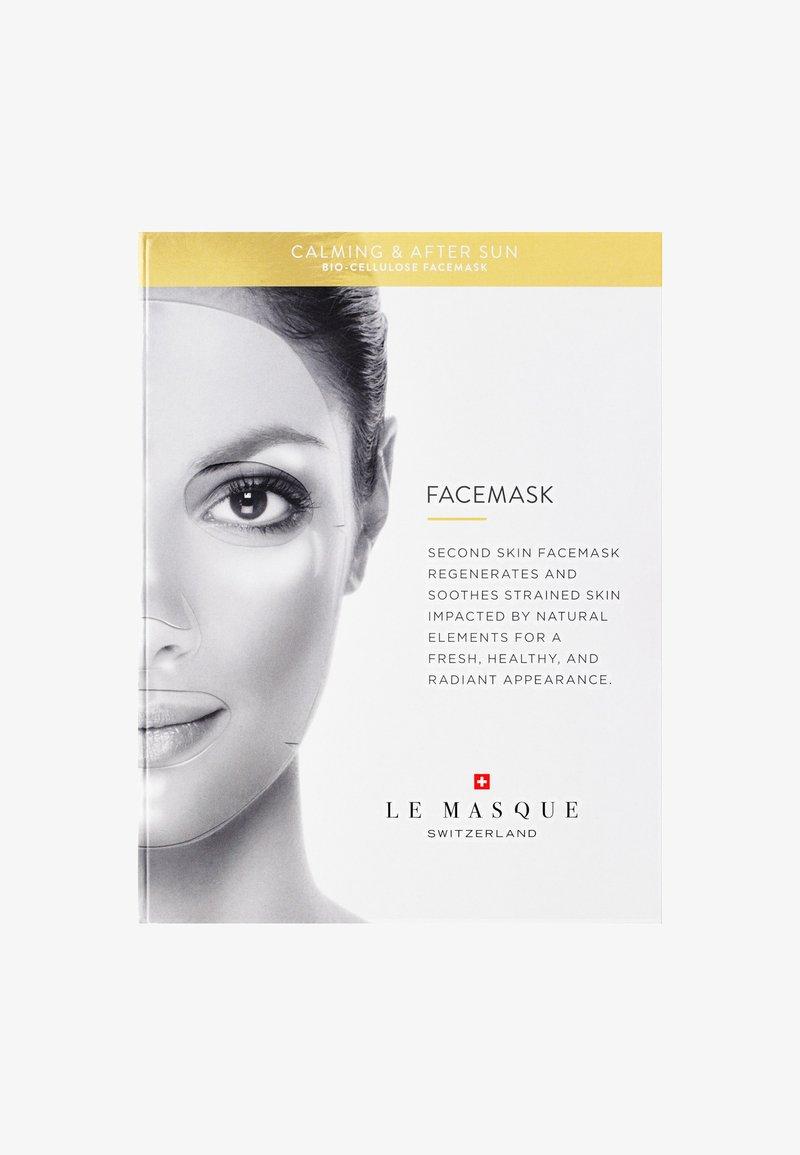 Le Masque Switzerland - CALMING & AFTER SUN FACE MASK - Masker - -