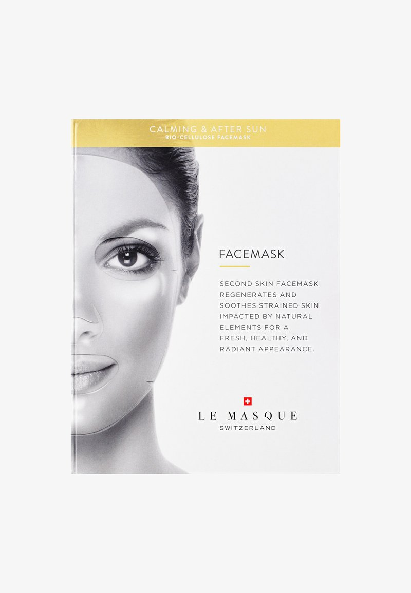 Le Masque Switzerland - CALMING & AFTER SUN FACE MASK - Masque visage - -