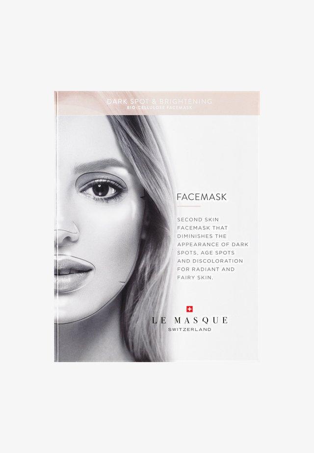 ANTI-DARK SPOT & BRIGHTENING FACE MASK - Gesichtsmaske - -