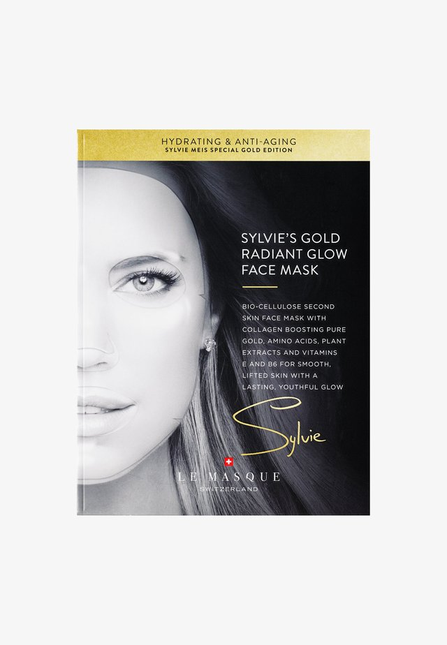 SYLVIE'S GOLD RADIANT GLOW FACE MASK - Face mask - -