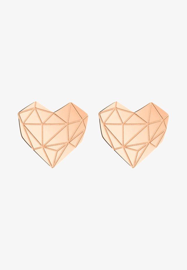 Ohrringe - rose gold