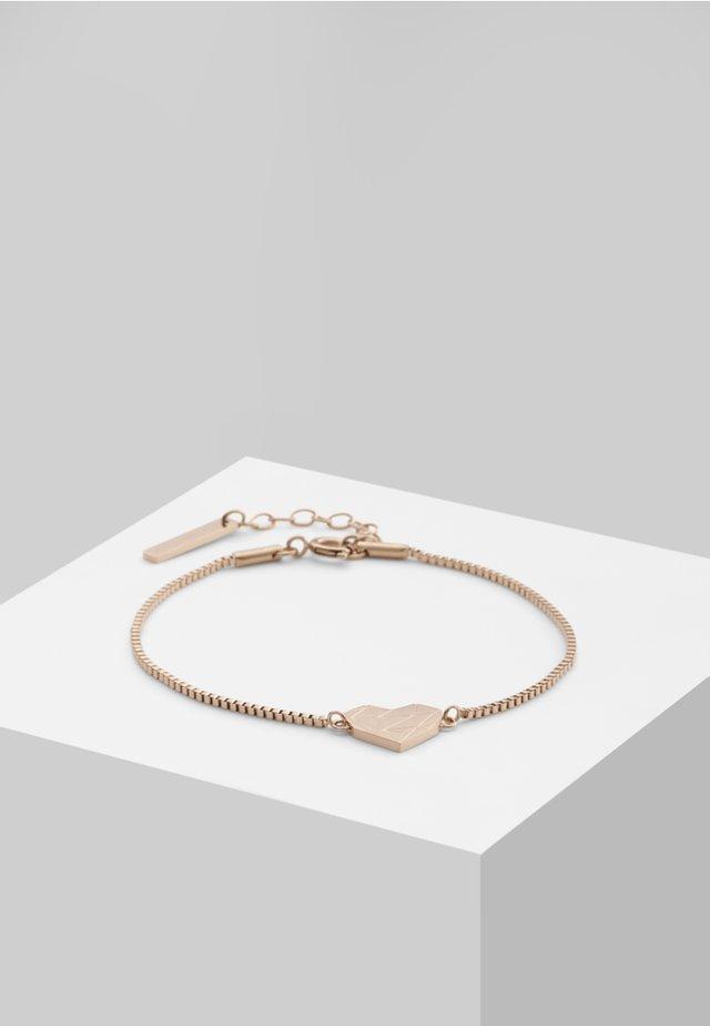 Armband - rose gold-coloured