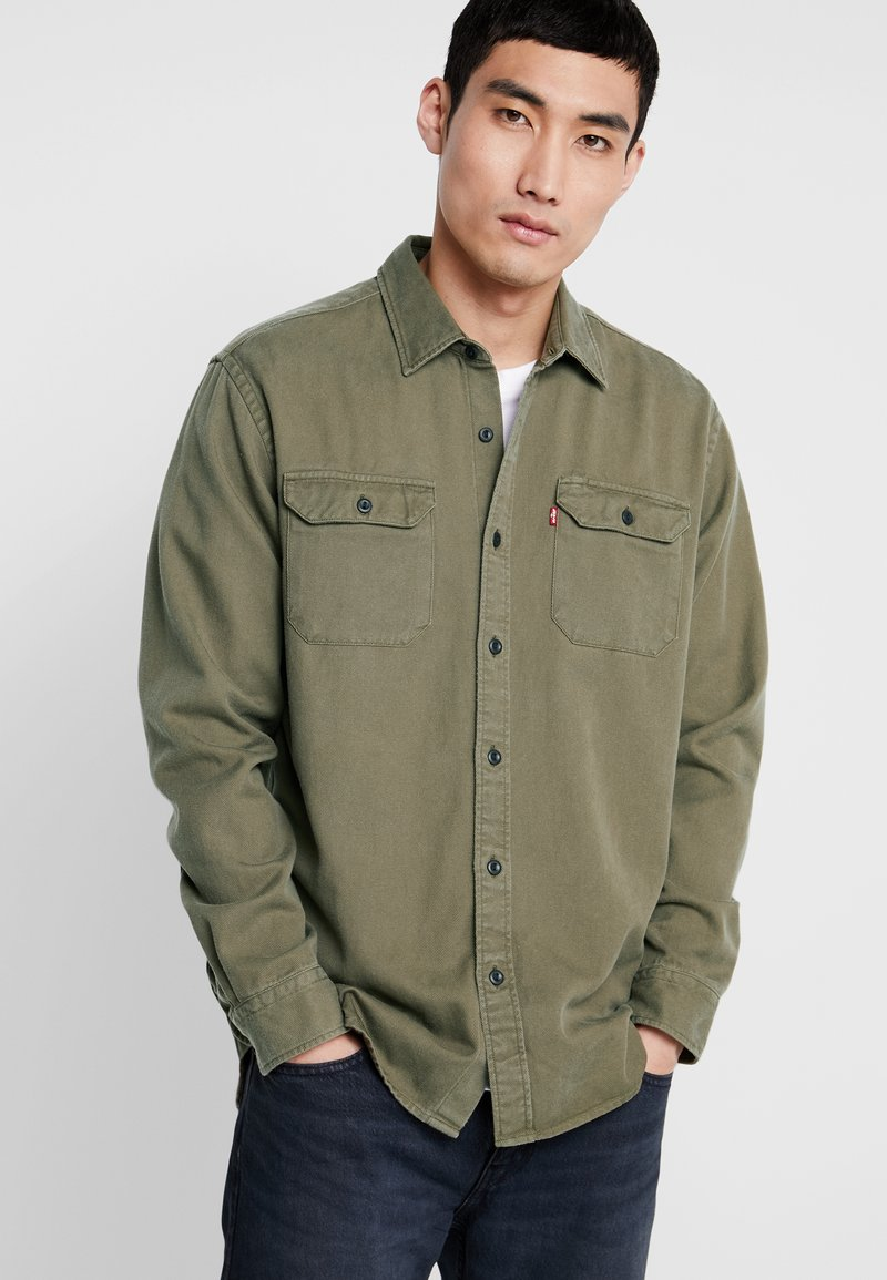 Levi's® Extra - JACKSON WORKER - Shirt - olive night