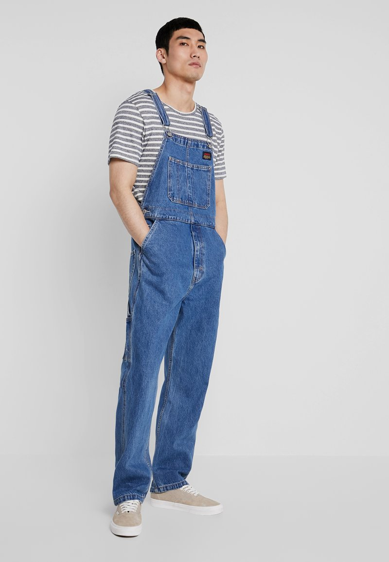 Levi's® Extra - OVERALL - Dungarees - stonewash