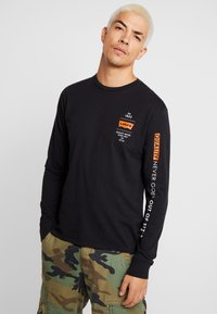 Levi's® Extra - GRAPHIC TEE - Long sleeved top - black - 0