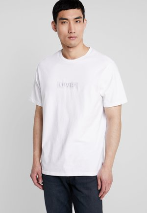 RELAXED GRAPHIC TEE - T-shirt basic - white