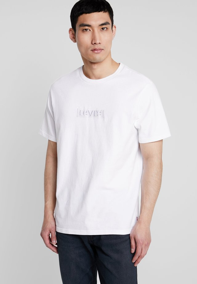 RELAXED GRAPHIC TEE - Basic T-shirt - white