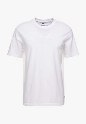 RELAXED GRAPHIC TEE - T-shirt basique - white