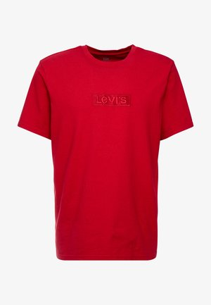 RELAXED GRAPHIC TEE - T-shirt - bas - brilliant red