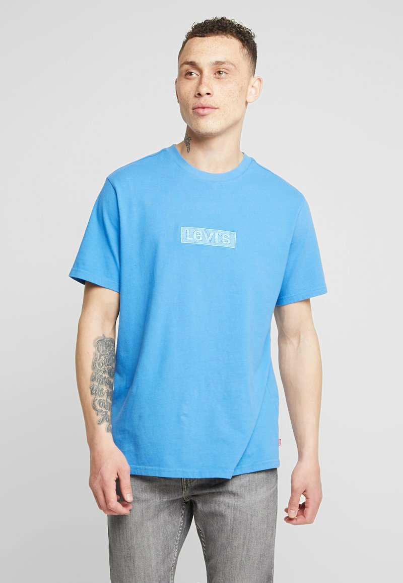 Levi's® Extra - RELAXED GRAPHIC TEE - Jednoduché triko - blue