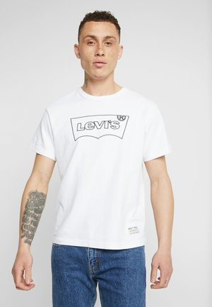 MIGHTY GRAPHIC TEE - T-shirt print - white