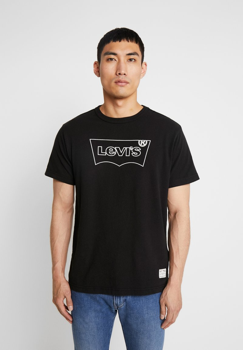 Levi's® Extra - MIGHTY GRAPHIC TEE - T-shirt print - black