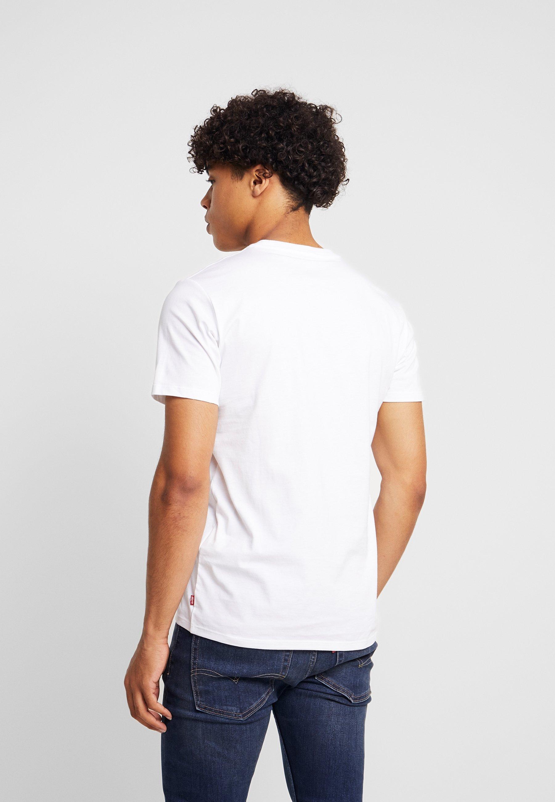 Extra Housemark shirt Imprimé TeeT Levi's® Graphic White O8n0wPyNvm