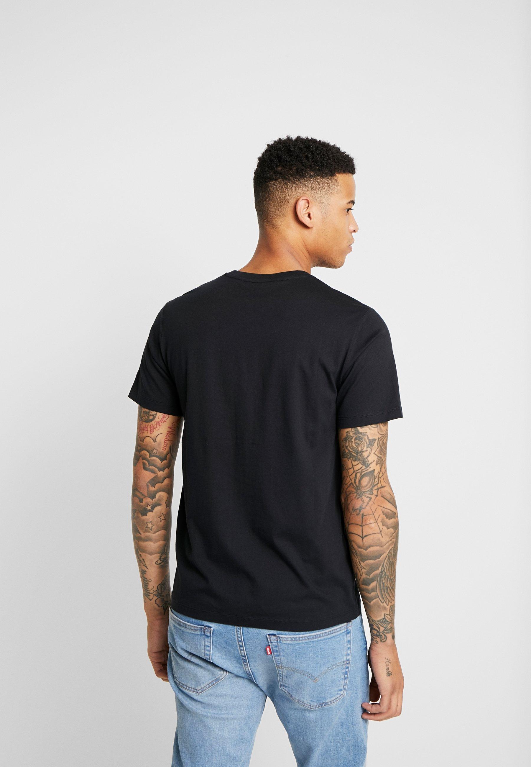 Levi's® Extra HOUSEMARK GRAPHIC TEE - T-shirt basic - mineral black
