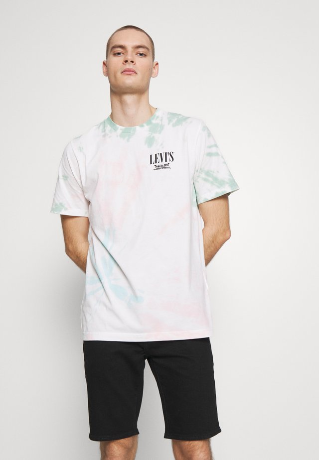 RELAXED GRAPHIC TEE - T-shirt con stampa - multi