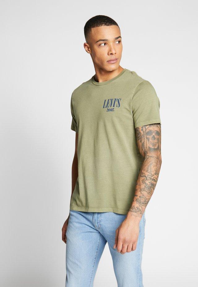 GRAPHIC - T-shirt print - olive