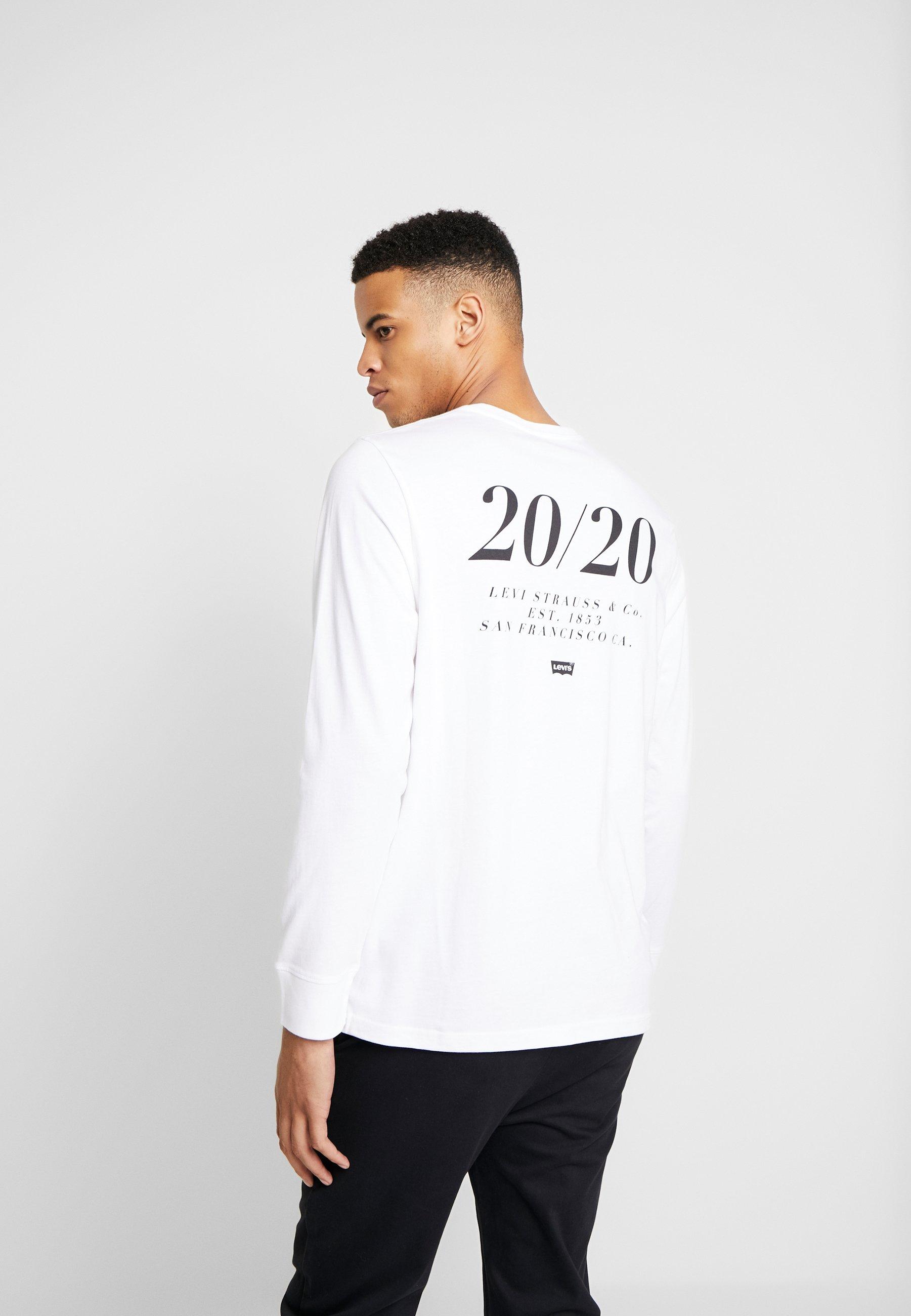 TEELangarmshirt Extra RELAXED Levix27;s® GRAPHIC white 4j3LqRA5