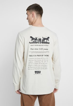 RELAXED GRAPHIC TEE - Longsleeve - fog